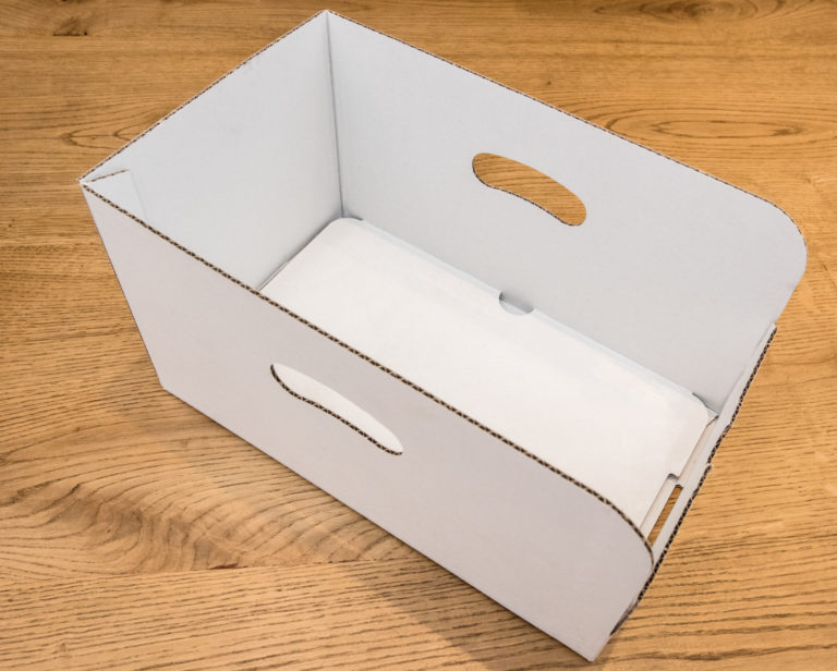 pudełka tekturowe